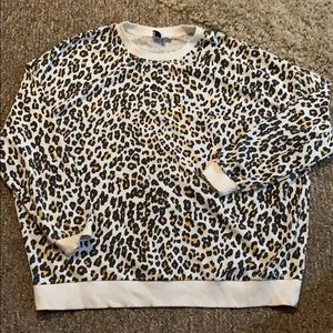 ASOS leopard print sweater